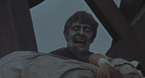 A zombie from The Plague of the Zombies.